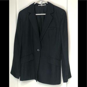 Linda Allard Ellen Tracy Black Jacket Blazer